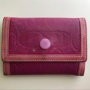 Coach Card Case Wallet